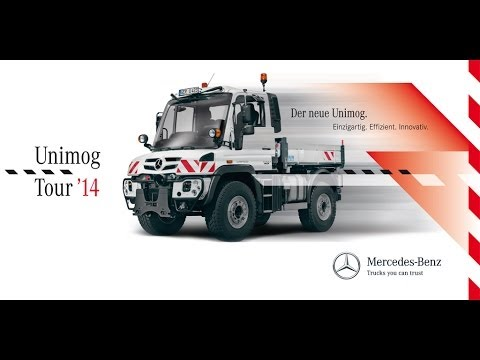 Mercedes-Benz Unimog Tour 2014