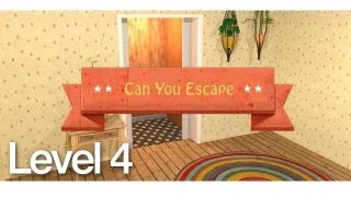 Can You Escape Walkthrough Level 4