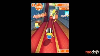 Soluce Moi, Moche et Méchant : Minion Rush sur iPhone et Android, niveau 5