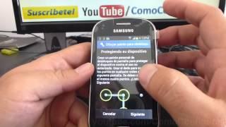 Como Configurar Un Patron De Bloqueo Samsung Galaxy Fame