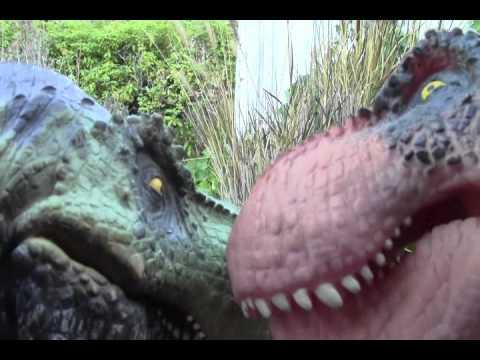 T Rex vs Carnotaurus 2