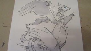 How To Draw Pokemon: No.643 Reshiram レシラム