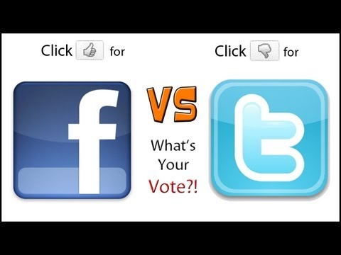 Facebook VS Twitter (Which Is Better??)
