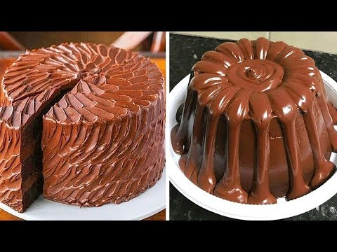 So Yummy Chocolate Cake Recipe | Most Satisfying Chocolate Cake Decorating Ideas | Top Yummy Cake