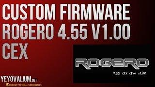 PS3 CFW 4.55 ROGERO CEX [DESCARGA]