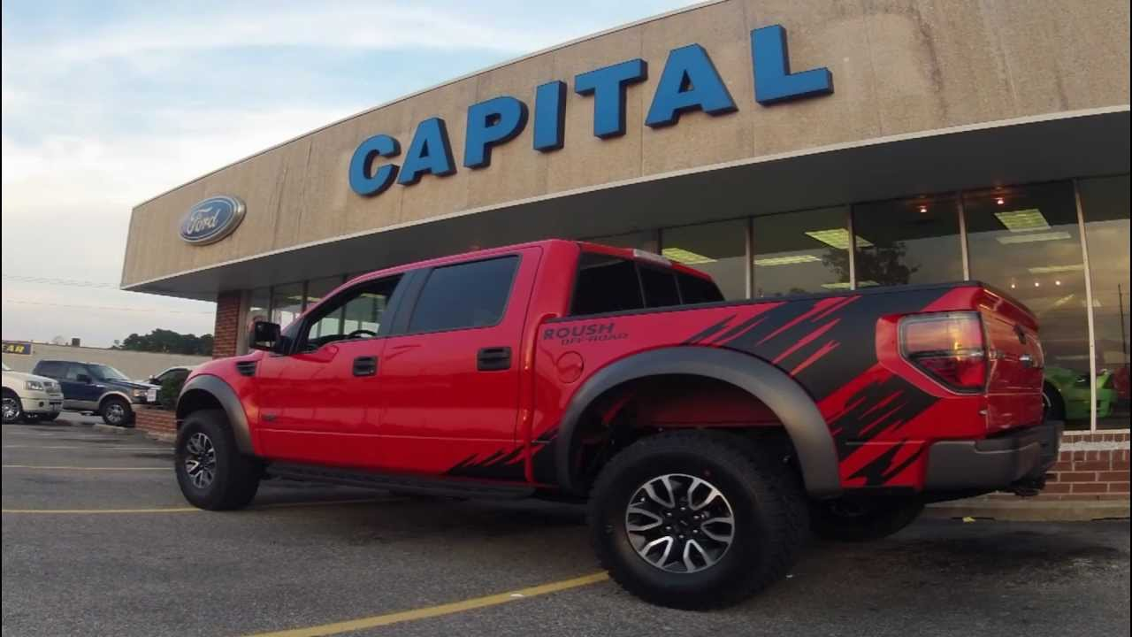 capital ford rocky mount 2012 ford f150 roush raptor 6 2l 2 3 tvs. Cars Review. Best American Auto & Cars Review