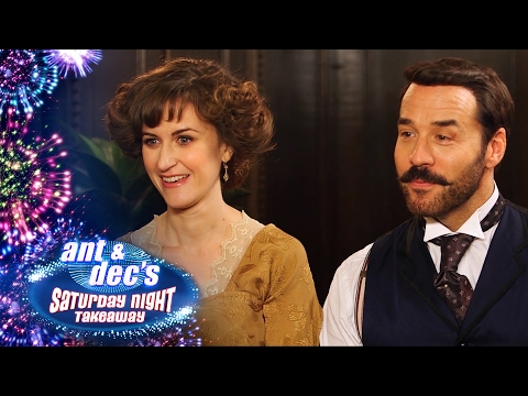 Little Ant and Dec Interview Mr Selfridge & Katherine Kelly - Saturday Night Takeaway