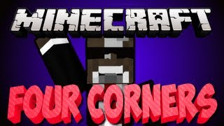 Minecraft 1.6.2 FOUR CORNERS Server Minigame