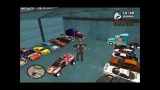 MEUS CARROS TUNADOS MINHA GARAGEM GTA SAN ANDREA 1080p