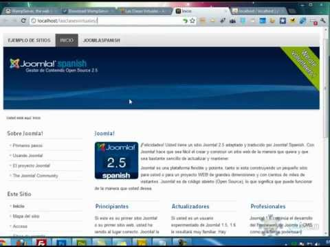 Como Instalar Joomla 2.5 Desde Cero Paso a Paso