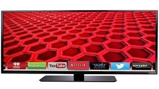 "Vizio E400i-B2 40"" Lcd Led TV Unboxing & Review My New"