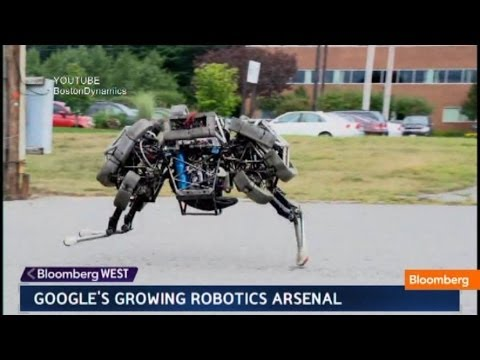 Google's Robot Army: Military or Civilian Purpose?