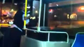 Ghetto Bus Driver Throws Passenger Off The Bus