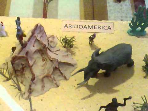 Mesoamérica, oasisamérica y aridomérica