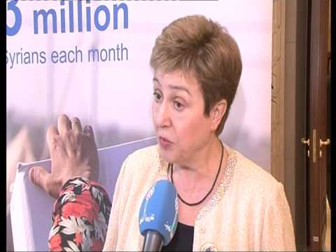 IHPCS 2: Interview with Kristalina Georgieva, EU Commissioner - Int. Cooperation & Humanitarian Aid