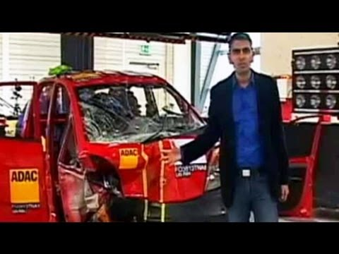 India's first crash tests