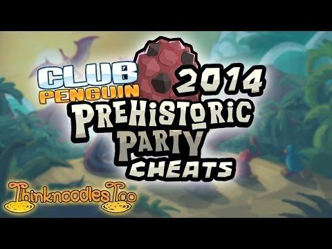 Club Penguin: Prehistoric Party 2014 Walkthrough Cheats