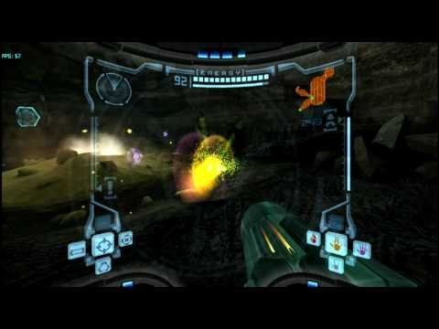 Metroid Prime (GC) on Dolphin Wii/GC Emulator 720p HD | Full Speed