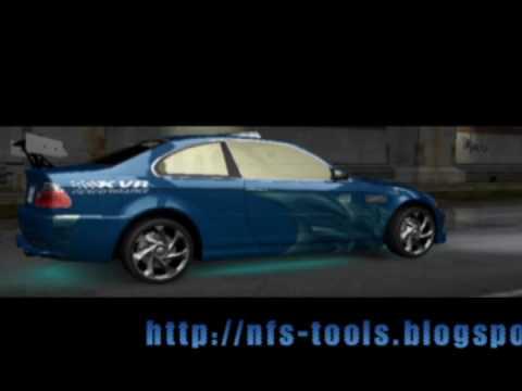Первая автомодификация для Need for Speed: Underground