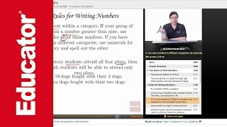 """Writing Numbers"" 