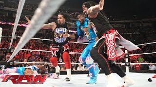 The New Day issues a WWE Tag Team Championship Open Challenge: Raw, November 23, 2015