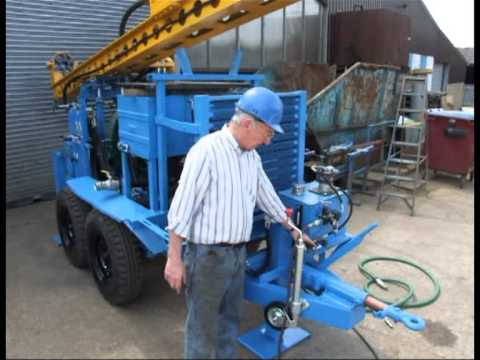 3T-R7-TRA Water Well Drilling Rig Instructional Video (full)