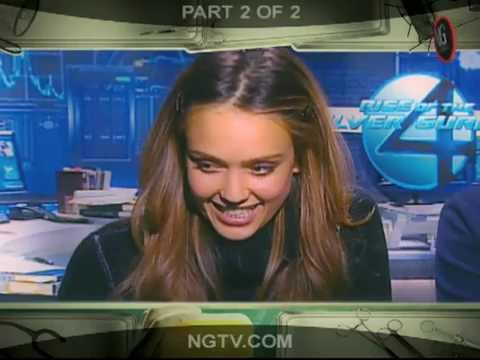 JESSICA ALBA Uncensored w/ Carrie Keagan & Fantastic for You!! Pt.2
