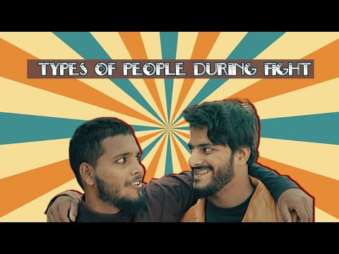 Types Of People During Fight | The Fun Fin | Comedy | Funny