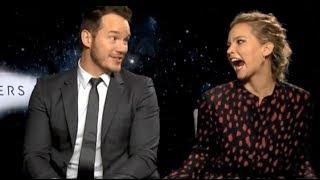 Jennifer Lawrence Can't Hide Her Affection For Chris Pratt