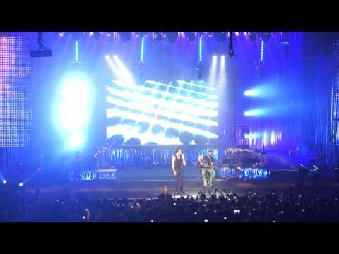 Sam Alves e Rubens Daniel - Pais e Filhos - The Voice Brasil Tour - SP