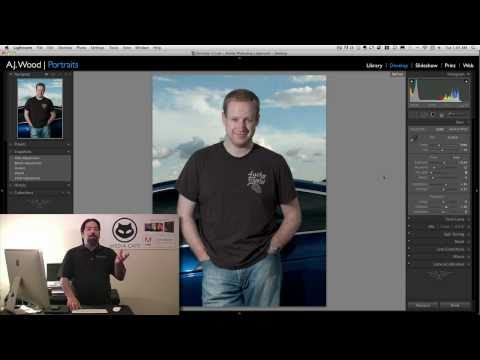 Lightroom 3 - Portrait Retouch Part 1