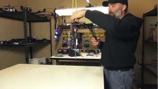 Quadrocopter Tutorial - Red Scarlet on a Cinestar 360 Gimbal