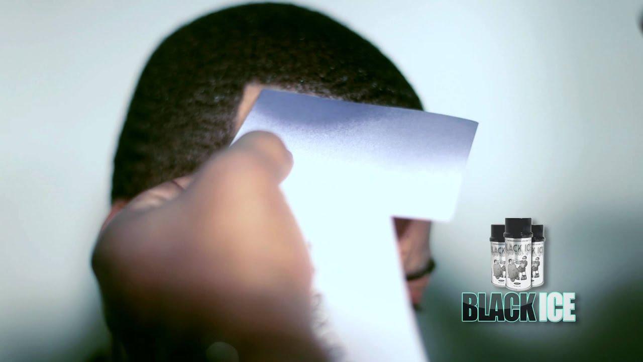 Black ice hairline