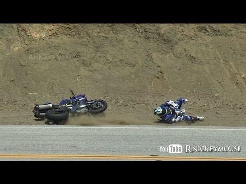 Začátečnická chyba a vypůjčená Yamaha R1
