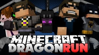 Minecraft DRAGON RUN LAVA PIT OF DOOM!