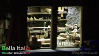 Pinocchio läßt das Lügen nicht im Miniatur Wunderland Hamburg