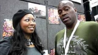 Lexington Steele Shares Sex Tips With Kiki Rockstar at Exxxotica Expo 2010!
