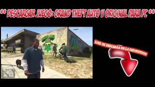 Descargar E Instalar【Grand Theft Auto V】【PC