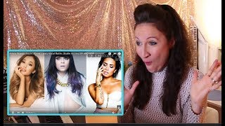 VOCAL COACH reacts to ARIANA GRANDE, JESSIE J, DEMI LOVATO, VOCAL BATTLE! Studio vs Live
