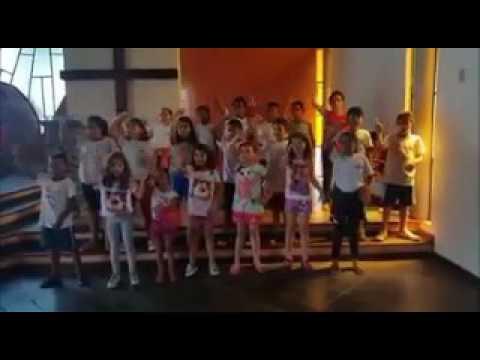 Apresentação crianças Projeto CEFAS Sorocaba/SP