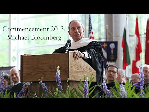 Kenyon College: NYC Mayor Bloomberg Commencement Address