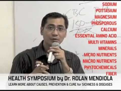 FIRST VITAPLUS COMPLETE HEALTH SYMPOSIUM BY DR. ROLAN MENDIOLA