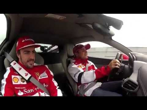 VIDEO-Hot laps Alonso-Massa-Front camera Barcelona