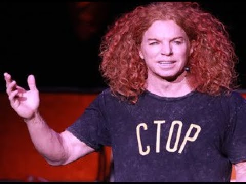 Comedian Carrot Top - BBC Interview & Review Las Vegas - Ginger / Tonight Show / Luxor Las Vegas