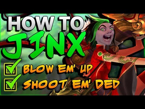 How to be your BEST Jinx - Season 8 Jinx ADC Guide :^)