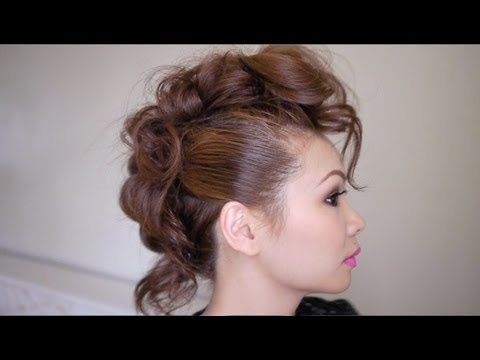 Trendy Mohawk Hair Tutorial