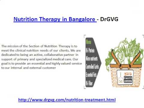 Nutrition Therapy Clinic :DRGVG