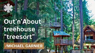 Treehouse Inventor: Ewok World in Oregon
