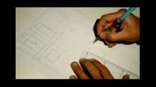 Dibujar La Perspectiva Isométrica De Una Figura A Partir