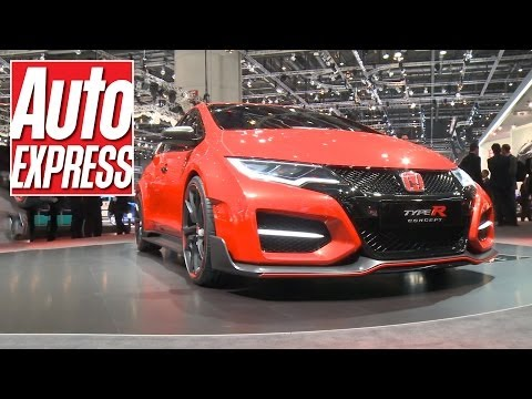 Honda Civic Type R at the Geneva Motor Show 2014